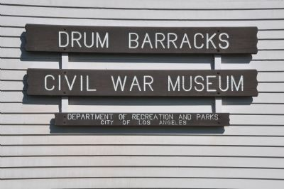 Drum Barracks Photo, Click for full size
