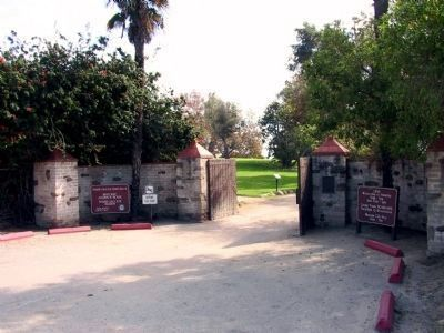 Entrance to the The Adamson House State Park image. Click for full size.