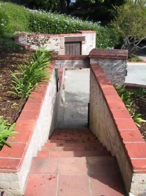 An Adamson House Exterior Stairway image. Click for full size.