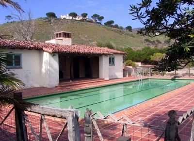 The Adamson House Pool image. Click for full size.