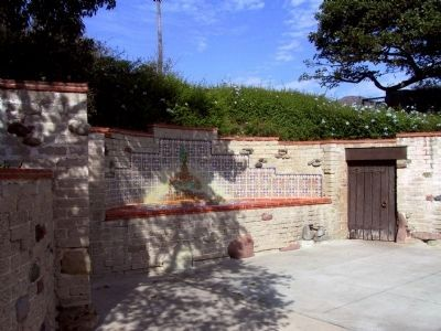 The Adamson House Fence Surrounding the Grounds image. Click for full size.