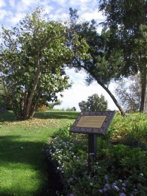 Adamson House Interpretive Panel image. Click for full size.