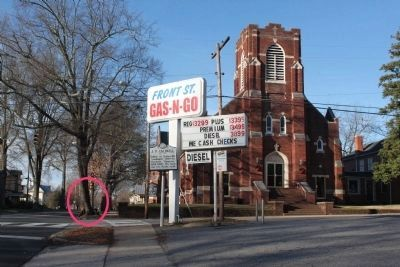 Mitchell College Marker MISSING image. Click for full size.