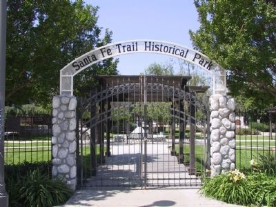 Santa Fe Trail Hisorical Park image. Click for full size.