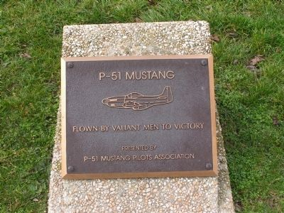 P-51 Mustang Marker image. Click for full size.
