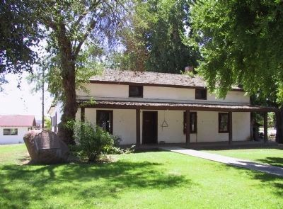 Yucaipa Adobe Marker and Adobe image. Click for full size.