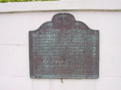 Ventura County Courthouse Marker image. Click for full size.