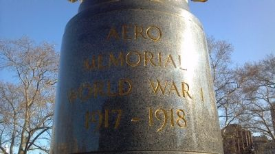 Aero Memorial Pillar Marker image. Click for full size.