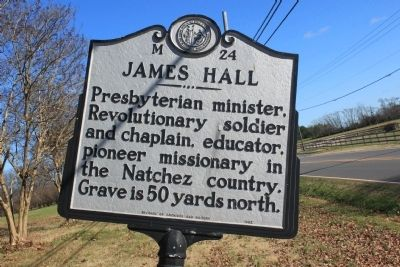 James Hall Marker image. Click for full size.