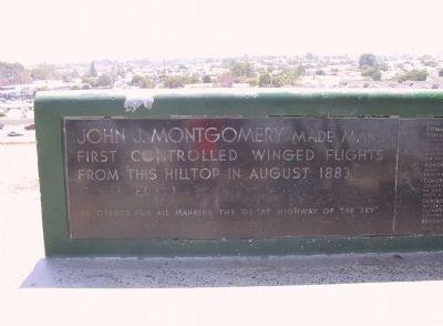 Montgomery Memorial Marker Photo, Click for full size