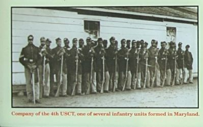 Company of the 4th USCT image. Click for full size.