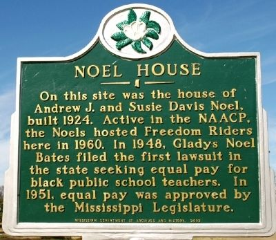 Noel House Marker image. Click for full size.