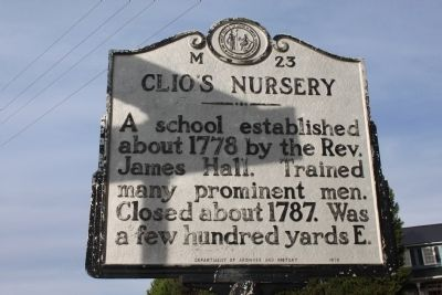 Clio's Nursery Marker image. Click for full size.