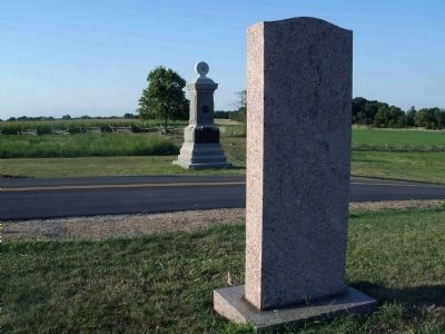 Reverse Side w/ 84th New York Infantry Monument Photo, Click for full size