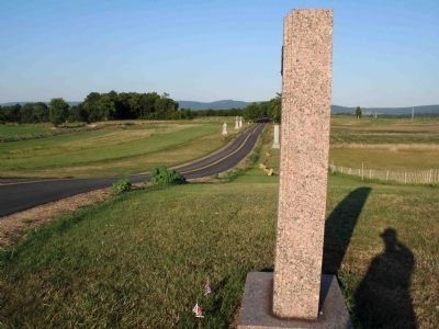 Texas Monument Along The Bloody Cornfield Photo, Click for full size