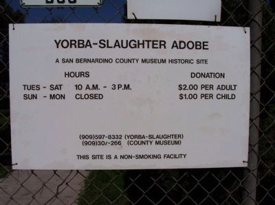 Yorba-Slaughter Adobe Photo, Click for full size