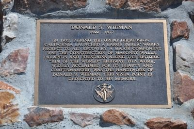 Donald S. Wieman Marker image. Click for full size.