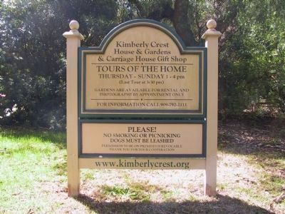 Kimberly Crest House & Gardens<br>& Carriage House Gift Shop image. Click for full size.