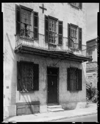 The William Vanderhorst House, 54 Tradd Street Photo, Click for full size