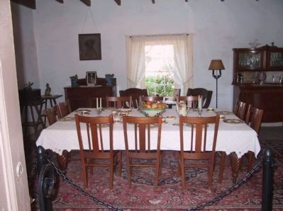 Olivas Adobe Dining Room image. Click for full size.