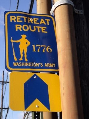 Retreat Route Marker Photo, Click for full size