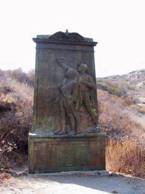 An Incident of the Mexican War Monument image. Click for full size.