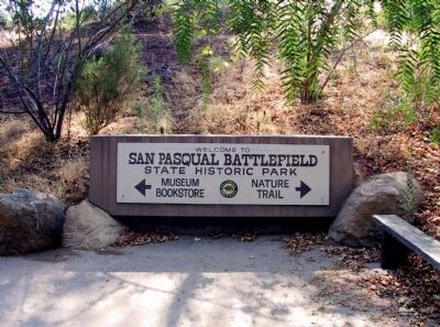 San Pasqual Battlefield image. Click for full size.