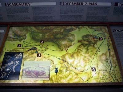 San Pasqual Battlefield Site Map image. Click for full size.