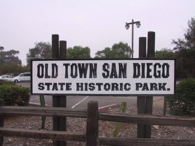 Old Town San Diego image. Click for full size.