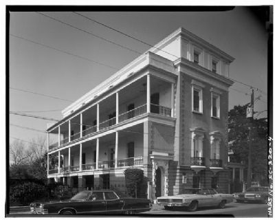 Glover - Sottile House, Historic American Engineering Record image. Click for full size.