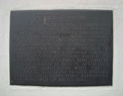 Conway�s Court Marker image. Click for full size.