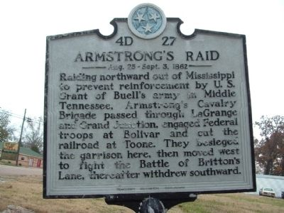 Armstrong's Raid Marker image. Click for full size.