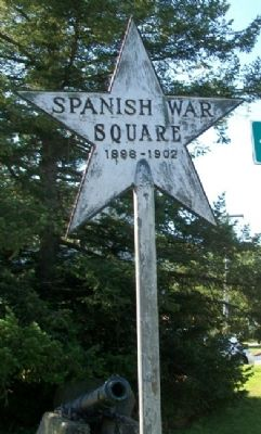 Spanish War Square Marker image. Click for full size.