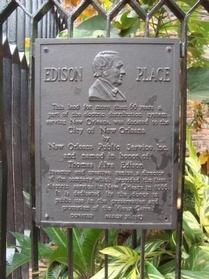 Edison Place Marker image. Click for full size.