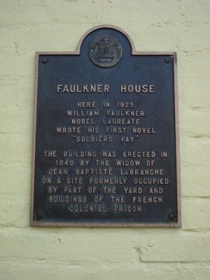 Faulkner House Marker image. Click for full size.