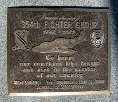 354th Fighter Group Marker image. Click for full size.