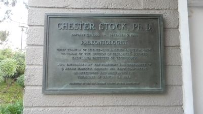 Chester Stock, Ph.D. Marker image. Click for full size.