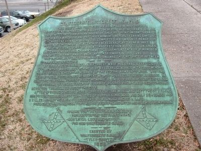 Confederate History Of Memphis image. Click for full size.