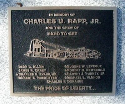 Charles U. Rapp, Jr. Marker image. Click for full size.