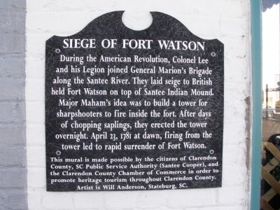 Siege of Fort Watson image. Click for full size.