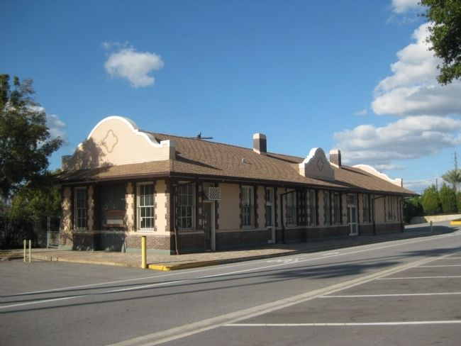 Haines City Railroad Depot image. Click for full size.