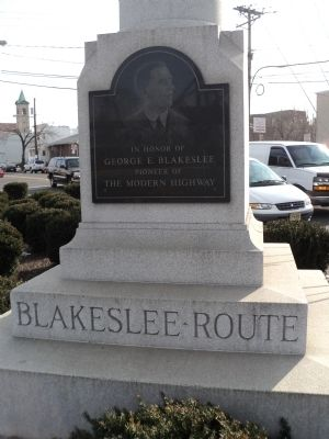 Blakeslee Route Marker image. Click for full size.