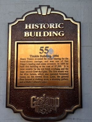 Timkin Building, 1894 Marker image. Click for full size.