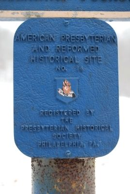 American Presbyterian and Reformed Historical Site Photo, Click for full size