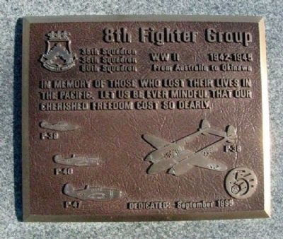 8th Fighter Group Marker image. Click for full size.
