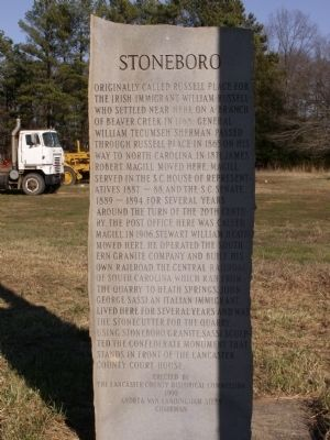 Stoneboro Marker image. Click for full size.