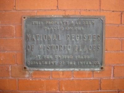 Plant City Union Depot Marker Photo, Click for full size
