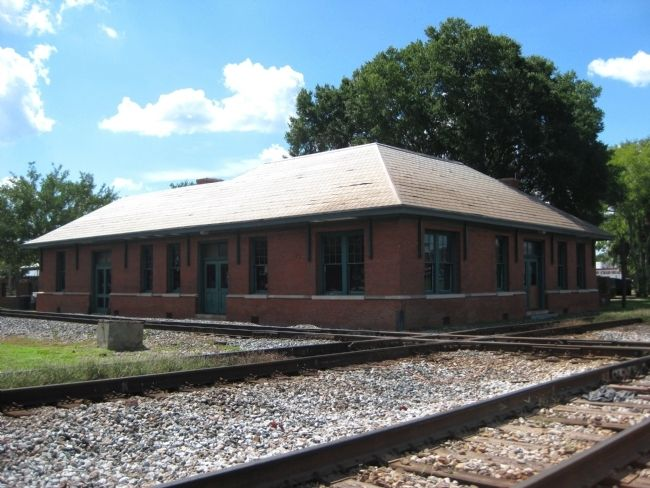 Plant City Union Depot Passenger Building Photo, Click for full size
