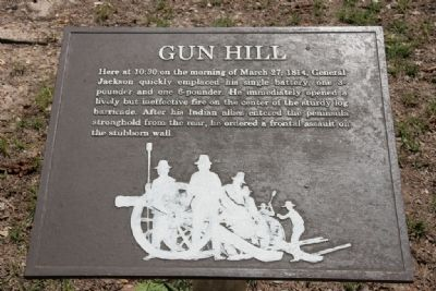 Gun Hill Marker image. Click for full size.