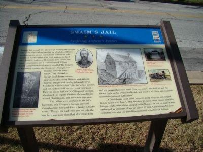Swaim's Jail Marker Photo, Click for full size